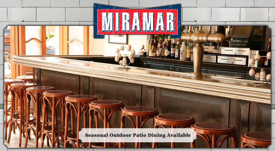 Miramar Bistro Bar Banquets In Highwood Il